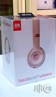 Original Beats By Dre Solo 3 Wireless Bluetooth On-Ear Headphone | Headphones for sale in Lagos State, Ikeja