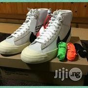 OFF-WHITE X Nike Blazer Hi-Top Sneakers | Shoes for sale in Lagos State, Lagos Mainland