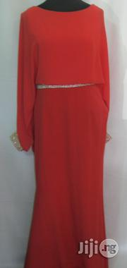 Ricci Orange Long Dinner Dress Size12 | Clothing for sale in Lagos State, Surulere