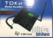 Wireless GSM Dual Sim Table Phone With FM Radio- TDK | Home Appliances for sale in Lagos State, Lagos Mainland