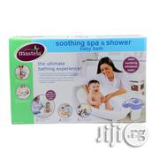 Mastela Soothing Spa Shower Baby Bath - White, 0M+ | Baby & Child Care for sale in Lagos State, Lagos Island