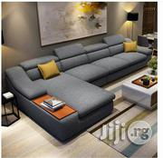 L Shape Fabric Sofa | Furniture for sale in Lagos State, Lagos Mainland