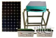 12v/200ah Battery And 1.5kva Inverter + 4pcs Solar Panel | Solar Energy for sale in Lagos State, Magodo