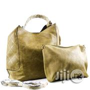 USA Made 2-in-1 Chic Modern Satchel With Long Strap - Olive | Bags for sale in Lagos State, Ikeja