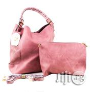 USA Made 2-in-1 Chic Modern Satchel With Long Strap - Coral | Bags for sale in Lagos State, Ikeja