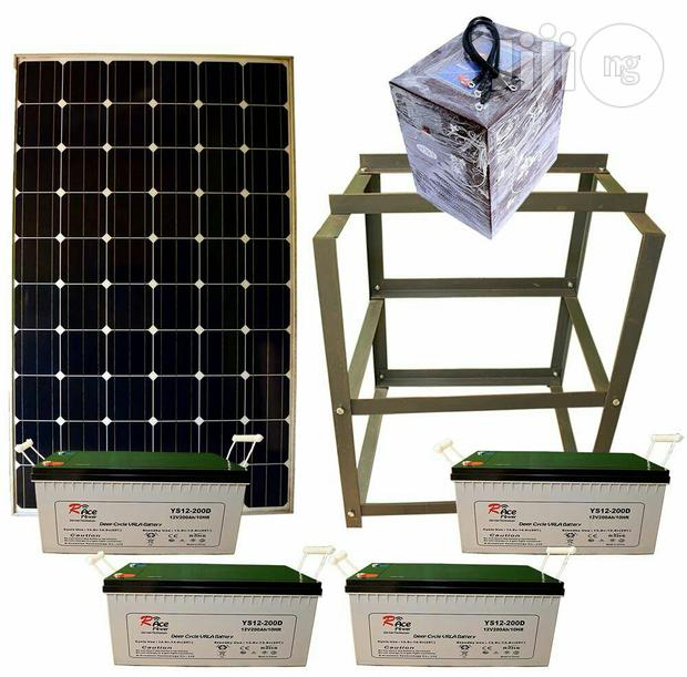 Complete System Of 3.5kva And Solar System