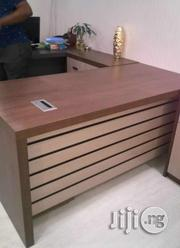 Office Table With Mobile Drawer Anti Scratch Wood | Furniture for sale in Lagos State, Ikeja