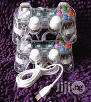 USB Transparent Dual Shock Gamepad | Video Game Consoles for sale in Lagos State, Ikeja