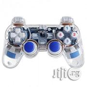 Transparent Dual Vibration Joystick/Gamepad For PC/Laptop | Video Game Consoles for sale in Lagos State, Ikeja