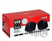 Havit USB Wired 2.0 Speakers For Laptop, Computer Phones | Audio & Music Equipment for sale in Lagos State, Ikeja