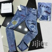 Authentic Gucci Ripped Jeans | Clothing for sale in Lagos State, Ojo