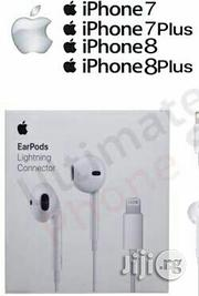 iPhone 7 Airpods With Lightening Connector (Authentic) | Headphones for sale in Lagos State