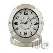 Surveillance Spy Table Clock With Camera Memory Slot | Security & Surveillance for sale in Lagos State, Apapa