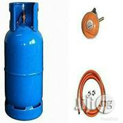 GAS Gas Cylinder 12.5kg With Regulator And Hose- Blue | Plumbing & Water Supply for sale in Abuja (FCT) State, Gwagwalada