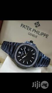 PATEK PHILIPPE Geneve Black Crystal Chain Quality Watch   Watches for sale in Lagos State, Lagos Mainland
