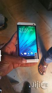UK Used HTC M7 Silver 32gb   Mobile Phones for sale in Lagos State, Gbagada