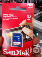 Sandisk 32GB SD Memory Card | Accessories for Mobile Phones & Tablets for sale in Lagos State, Ikeja