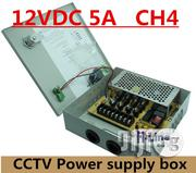 4way CCTV Power Supply Box 12v-5amp | Security & Surveillance for sale in Lagos State, Ikeja