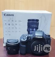 Canon DSLR Camera EOS 7D With 50mm 1.8 Lens   Photo & Video Cameras for sale in Lagos State, Ikeja