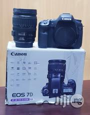 Canon EOS 7D DSLR Camera With 28-135mm F/3.5-5.6 Is Usm Lens   Photo & Video Cameras for sale in Lagos State, Ikeja