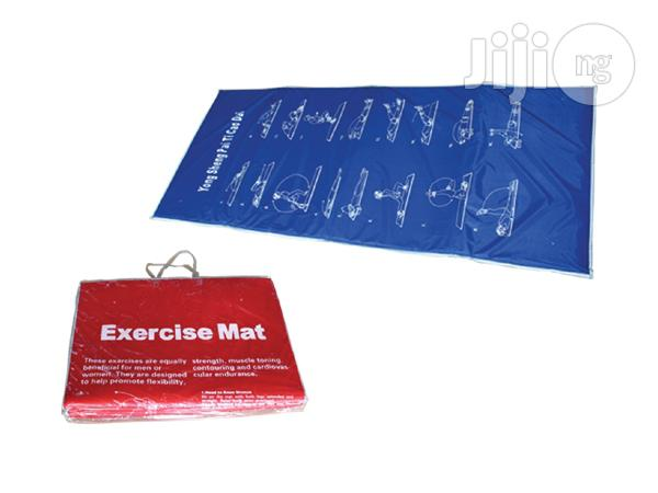 New Exercise Mat Available
