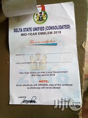 Mobile Ads Vehicle Emblem Certificate   Logistics Services for sale in Lagos State, Ojodu