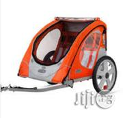 New Instep Robin Trailer Carrier Bicycle Cart 2 Seater With Zipper | Prams & Strollers for sale in Lagos State, Ikeja