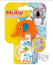 Nuby Baby Pacifier With Holder | Baby & Child Care for sale in Lagos State, Ikeja