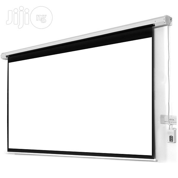 """Automatic Electric Projector Stand 72"""" X 72"""""""