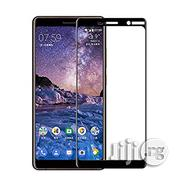3D Tempered Screen Protector for Nokia 7 Plus, 6, 5, 2 - Black White | Accessories for Mobile Phones & Tablets for sale in Lagos State, Lagos Mainland