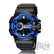 Ohsen AD1505 Waterproof Dual Time Display Led Digital | Watches for sale in Lagos State, Lagos Mainland