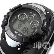 Ohsen Men's Waterproof Digital LCD Alarm Sport Watch | Watches for sale in Lagos State, Victoria Island