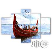 Sailing Boat 5 Piece Canvas Frame | Home Accessories for sale in Lagos State, Lagos Mainland