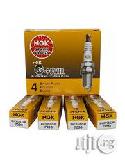 NGK 7090 BKR5EGP G-power Spark Plug, Pack Of 4 | Vehicle Parts & Accessories for sale in Lagos State, Ikeja