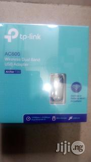 Tp-Link Ac600 Wireless Dual Band USB Adapter(Archer T2U)   Networking Products for sale in Lagos State, Ikeja