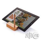 Stand For Tab/Phone With Stylus/ Pen (Wood Design) | Accessories for Mobile Phones & Tablets for sale in Lagos State, Lagos Mainland