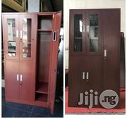 Office Metal Bookshelf With Wardrobe Locker | Furniture for sale in Lagos State, Ojo