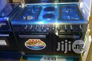AKAI Standing Gass Cooker 4 Gas and 2 Electric Fast Cooking Blue Fame | Kitchen Appliances for sale in Lagos State, Ojo