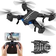 Wifi Foldable HD Camera Drones Flying Camera Drone | Photo & Video Cameras for sale in Lagos State, Yaba