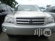 Toyota Highlander 2002 Silver | Cars for sale in Lagos State, Apapa