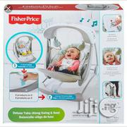 Fisher Price Deluxe Take Along Baby Swing Seat | Children's Gear & Safety for sale in Lagos State, Ikeja