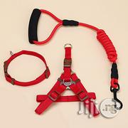 Dog Harness Leash Leads Dog-collar (3 In 1) Fit For Weight: 15-35kg | Pet's Accessories for sale in Abuja (FCT) State, Maitama