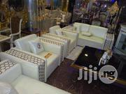 Quality Italian Leather Living Room Sofa Chair 7 Seaters | Furniture for sale in Lagos State, Lekki Phase 1