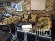 High Quality Italian Royal Living Room Sofa Chair Seven Seaters | Furniture for sale in Lagos State, Lekki Phase 1