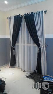 Black an Grey Turkish Curtain | Home Accessories for sale in Lagos State, Oshodi-Isolo