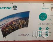 Hisense Curved Television (Ultra HD 4K) 55 Inches | TV & DVD Equipment for sale in Abuja (FCT) State, Wuse