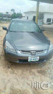 Clean Honda Accord 2005 Gray For Sale   Cars for sale in Rivers State, Obio-Akpor