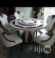 Superb Royal Round Marble Dining Table and Chairs | Furniture for sale in Abuja (FCT) State, Asokoro