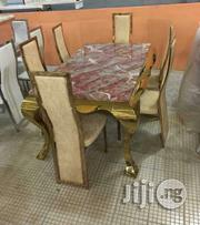 Marble Dinning (Gold) | Furniture for sale in Abuja (FCT) State, Wuse
