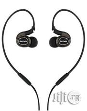Remax RM - S1 Pro Sporty Earphone - Black | Headphones for sale in Lagos State, Lagos Mainland
